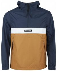 Timberland - Sports Pullover Quarter Zip Jacket - Lyst