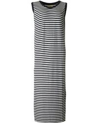 A Postcard From Brighton - Hello Sailor Striped Maxi Dress - Lyst