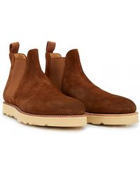 G.H.BASS - Monogram Wedge Chelsea Boots - Lyst