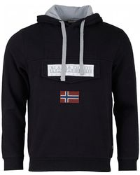 Napapijri - Burgee Pullover Hooded Sweat - Lyst