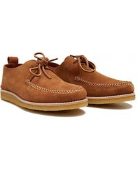 Yogi - Lawson Suede Crepe Sole Shoes - Lyst