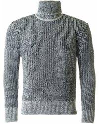 J.Lindeberg - Pratt Heavy Roll Neck Knit - Lyst