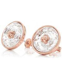 Ted Baker - Aubree Plisse Crystal Ball Stud Earrings - Lyst