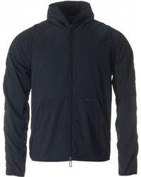 Armani - Lightweight Zip Through Hooded Jacket - Lyst