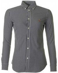 Polo Ralph Lauren - Heidi Striped Shirt - Lyst