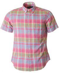 Polo Ralph Lauren - Custom Fit Madras Multi Check Shirt - Lyst
