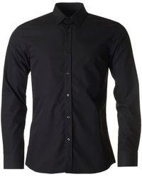 HUGO - Elisha Slim Fit Shirt - Lyst