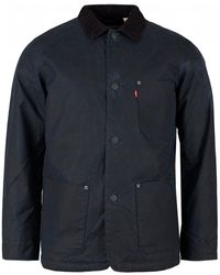Levi's - Sherpa Engineer's Coat - Lyst