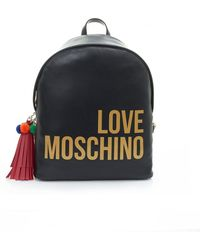 Moschino - Logo Tassle Detail Back Pack - Lyst