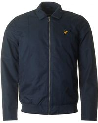 Lyle & Scott - Collared Bomber Jacket - Lyst