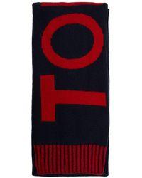 Tommy Hilfiger - Fun Logo Knit Scarf - Lyst