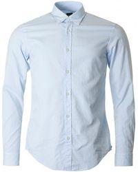 BOSS Black - Rod 51 Washed Oxford Shirt - Lyst