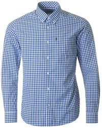 Barbour - Bruce Three Colour Gingham Shirt - Lyst