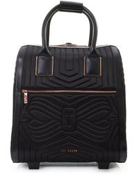Ted Baker - Quilted Bow Travel Cabin Case - Lyst