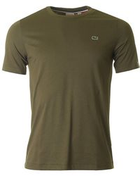 Lacoste L!ive - Short Sleeved Crew Neck - Lyst