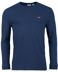 Levi's - Long Sleeved House Crew Neck - Lyst