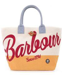 Barbour - Shingle Beach Bag - Lyst