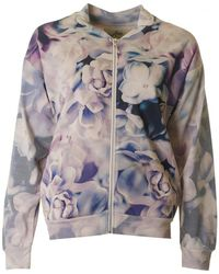 A Postcard From Brighton - Floral Bomber Jacket - Lyst