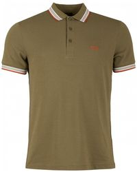 BOSS Athleisure - Paddy Short Sleeved Tipped Polo - Lyst