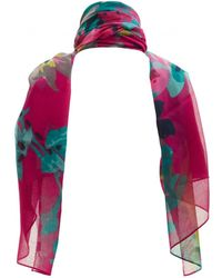 Joules - Soft Striped Scarf - Lyst