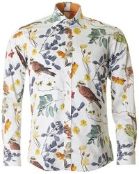 Claudio Lugli - Large Floral Print Shirt - Lyst