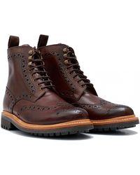Grenson - Fred C Commando Sole Boots - Lyst