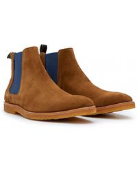 Paul Smith - Andy Crepe Sole Chelsea Boots - Lyst