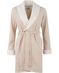 UGG - Blanche Ii Soft Fleece Dressing Gown - Lyst