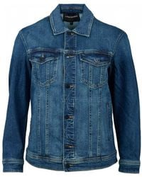 Emporio Armani Oversized Denim Jacket