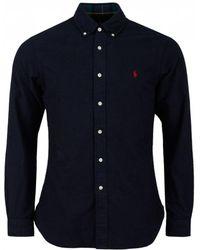 Polo Ralph Lauren - Long Sleeved Heavy Flannel Shirt - Lyst