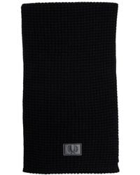 Fred Perry - Waffle Knitted Scarf - Lyst