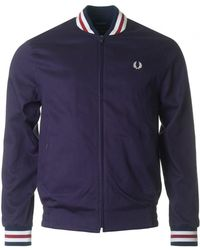 Fred Perry - Made In England Tennis Bomber Jacket - Lyst