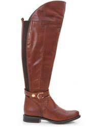 Moda In Pelle - Over The Knee Flat Boots - Lyst