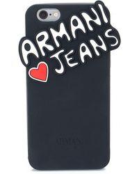 Armani Jeans - Logo Iphone 6 Case - Lyst