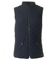 Joules - Quilted Gilet - Lyst