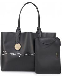 f243f073c38 Michael Kors Mason East West Reversible Leather Tote in Black for Men - Lyst