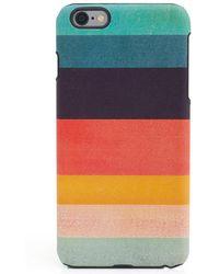 Paul Smith   Large I Phone 6 Artist Stripe Phone Case   Lyst