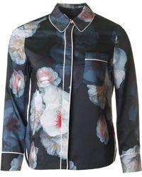 Ted Baker - Chelsea Print Pyjama Shirt - Lyst