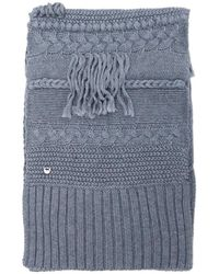 UGG - Cable Knit Scarf - Lyst