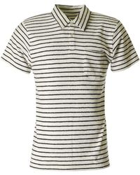 Howlin' By Morrison - Six Blade Knife Striped Polo - Lyst
