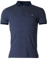 Polo Ralph Lauren | Short Sleeved Striped Slim Polo | Lyst