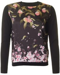 Ted Baker - Peach Blossom Knit - Lyst