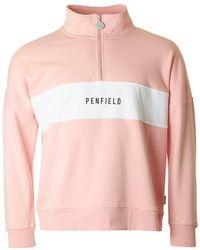 Penfield - Hosmer Half Zip Sweat - Lyst