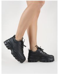 Public Desire - Vouch Chunky Trainers In Black - Lyst