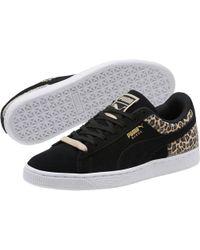 a02e496b5885 Lyst - Reebok Grey Classic Nylon Wild Sneakers in Gray