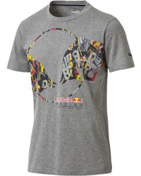 PUMA - Red Bull Racing Double Bull Men's Tee - Lyst