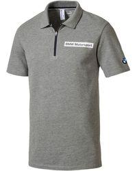 72c4ec70b974 PUMA - Bmw Motorsport Men s Polo Shirt - Lyst