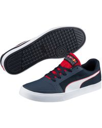 PUMA - Red Bull Racing Wings Vulc Shoes - Lyst