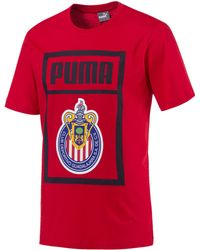 1cf734d4d23 PUMA Chivas Training Shirt Ss16 in Red for Men - Lyst