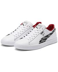 581ad8801336c6 Lyst - Puma X Trapstar Clyde Suede in Black for Men